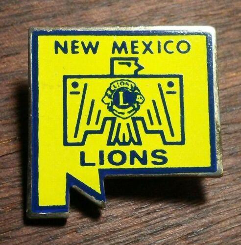 Vintage Lions Club New Mexico Pin