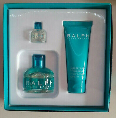 Ralph Lauren Eau De Toilette 3.4 +0.25 OZ+ GOODBYE Dry Hydrating Body Lotion set