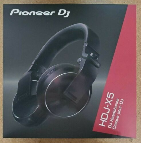 Pioneer HDJ-X5 Over-Ear DJ Mixing Monitoring Detachable Cable Headphones