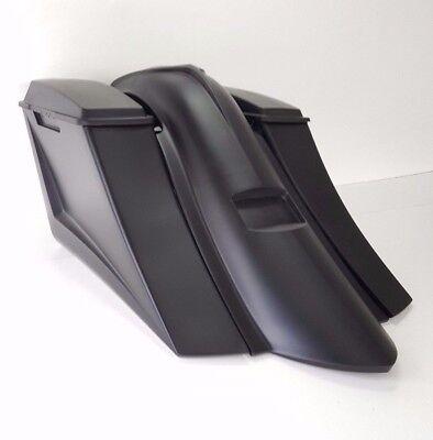 "Harley Davidson 6"" Down 14""back Bags&fenders 6.5lids Plate Cover & Chin Spoiler"