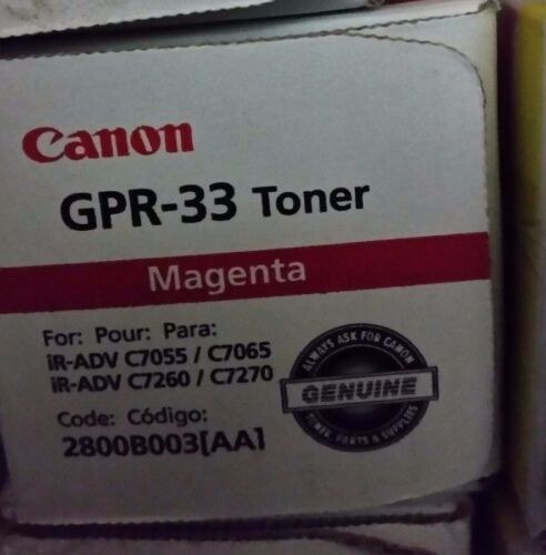 Canon 2800B003AA (GPR-33) Magenta Toner C7055 C7260 C7065