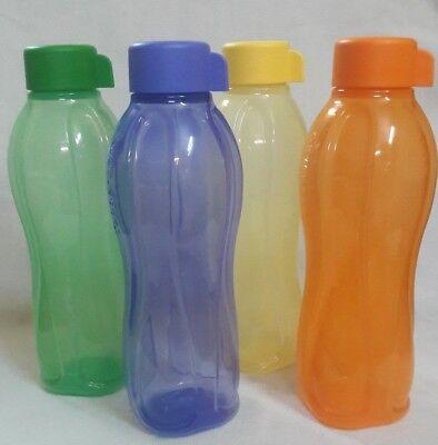 Tupperware Aquasafe Water bottles Eco Sports bottle 1 Ltr (Set of 4 ) Best