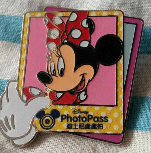 PhotoPass Collection - Minnie Mouse Hong Kong Disney Land Hkdl 2015 Pin