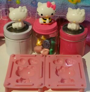 3D Hello Kitty Shape Silicone Mold Tools Double Sided Resin Cake Baking Pan Tray
