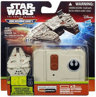 Star Wars The Force Awakens Micro Machines Millennium Falcon Micro R/C Vehicle](Millennium Falcon Rc)
