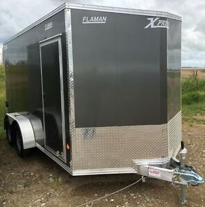 2017 ALCOM High Country XPress 7x14 TA Enclosed Cargo Trailer