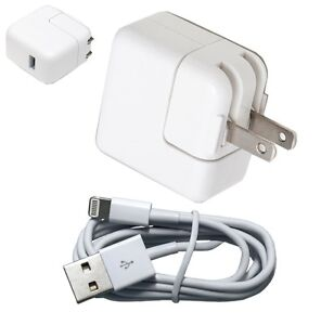 12W-USB-2-4-Amp-Wall-Charger-8-Pin-Cable-for-Apple-iPad-4-Mini-Air-iPhone-5S