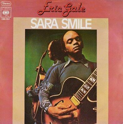 "7"" ERIC GALE Sara Smile DARYL HALL JOHN OATES De Rabbit CBS Promo Jazz-Funk 1977"