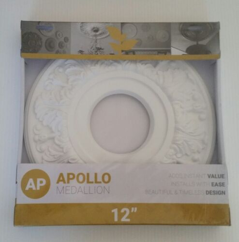 apollo 12 light fixture ceiling medallion new