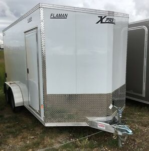 2017 ALCOM High Country 7x14 TA Enclosed Cargo Trailer