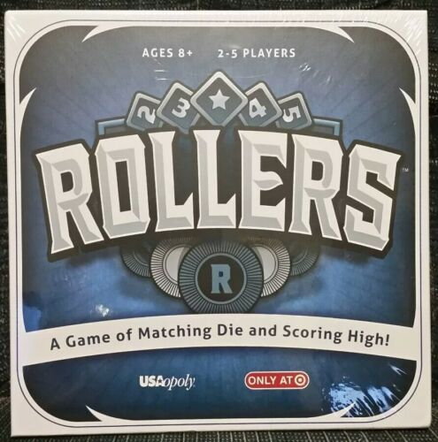 ROLLERS Board Game by USAopoly  NEW Target Exclusive
