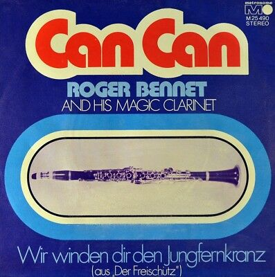 "7"" ROGER BENNET Can Can JACQUES OFFENBACH / ALEXANDER GORDAN orig.METRONOME 1973"