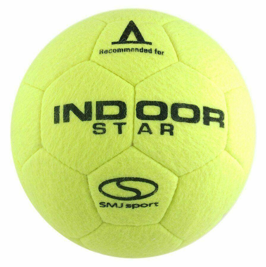 SMJ Indoor Fußball Filzball Hallenfußball Hallenball Ballsport Kinder - Größe 4