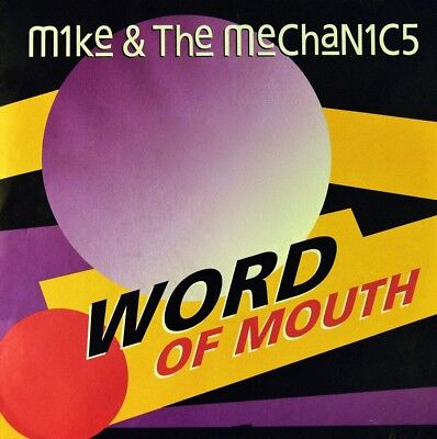 """7"""" MIKE RUTHERFORD AND THE MECHANICS Word Of Mouth GENESIS VIRGIN Germany 1991"""