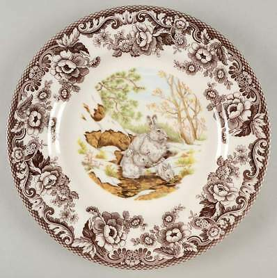Spode WOODLAND Snowshoe Rabbit Dinner Plate 4680871