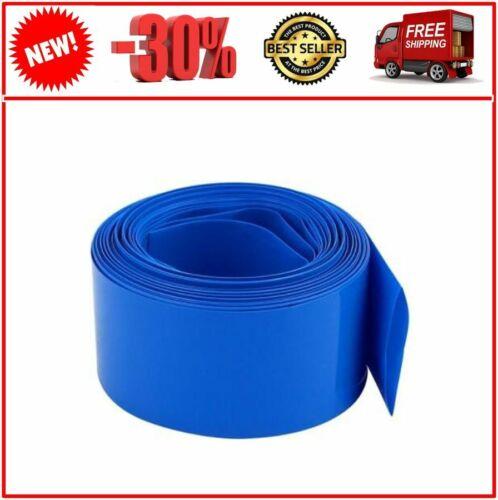 DIY Battery Pack PVC Heat Shrink Wrap Tube 180±3/MM Width 3/M Length For Power