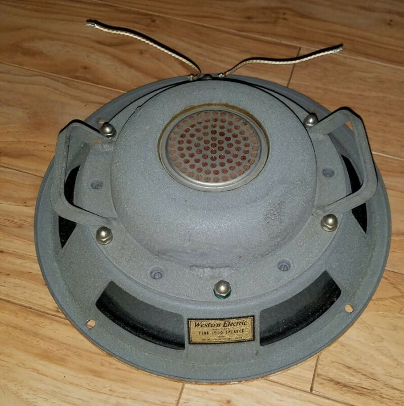 VINTAGE WESTERN ELECTRIC 728B SPEAKER - BEAUTY!