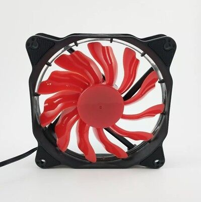 Red Led Fan (Red LED 120mm Computer Case LED Fan US Free)
