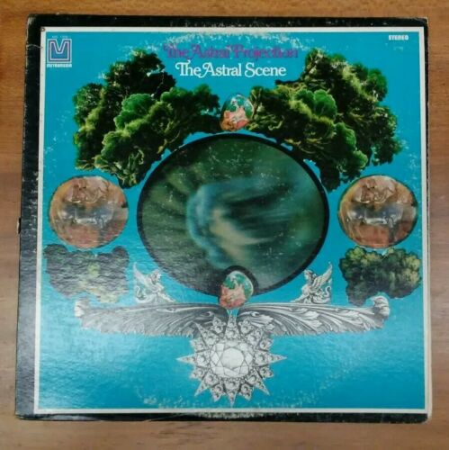 The Astral Projection The Astral Scene LP RECORD Metromedia Label MD 1005 - $38.00