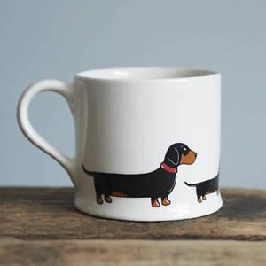 Sweet William DACHSHUND Mug   Great Gift for Sausage Dog Lovers   FREE P&P