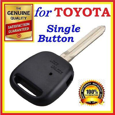 Toyota Remote Key shell Estima Camry Corolla Yaris Prado RAV4 Echo One Button