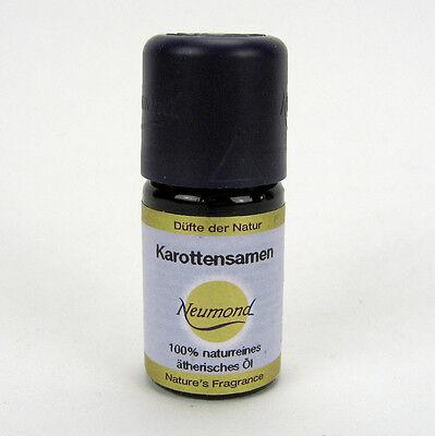 Reine Karotte (Neumond Karottensamen Öl naturreines ätherisches Karottensamenöl 5 ml)