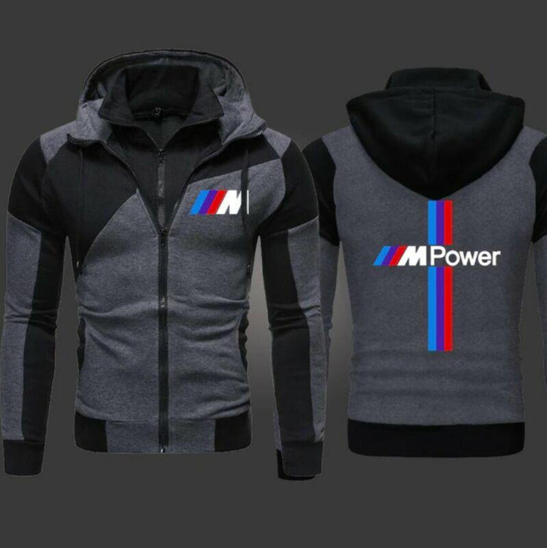 Men's BMW M-Power Hoodie L, New, Free Shippin
