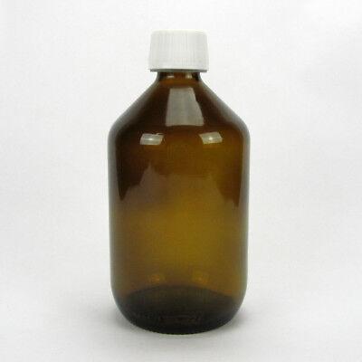 Apotheker Braunglas (Sala Braunglasflasche Apothekerflasche Verschluss Kindersicherung 500 ml )