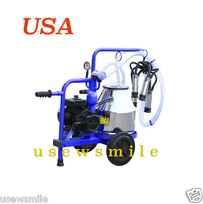 Milking Cows Milking Machine Vacuum Pump Electric Stainless Steel 304l Extras