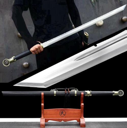 Chinese Tang Dynasty Saber Knife Sharp 1095Carbon Steel KungFu Dao Sword Katana