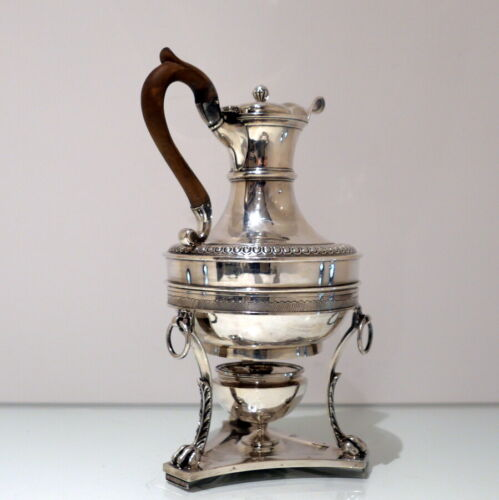 19th Century Antique George III Sterling Silver Biggin on Stand Lon 1807 J Emes