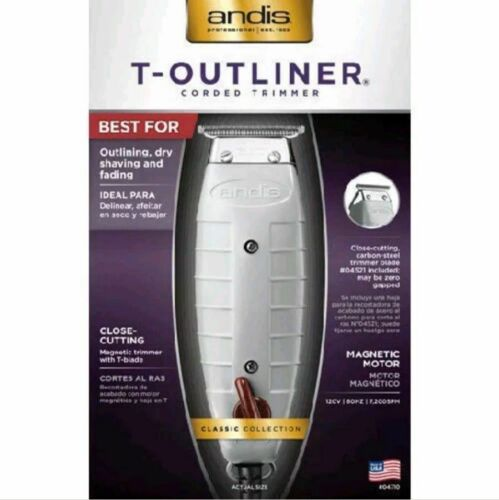 Andis T-Outliner 04710 Professional Trimmer Barber, Salon, Hair Cut, Clippers