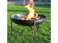 Price reduced Garden Steel hand forged firepit - As new