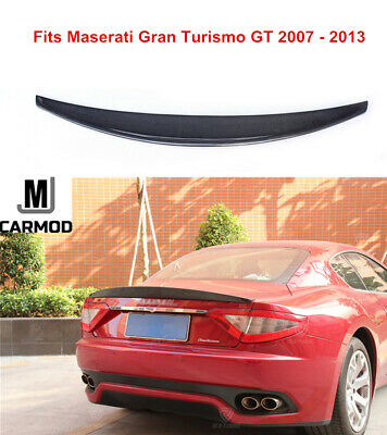 Fit For Maserati GT Gran Turismo Coupe 07-13 Carbon Fiber Rear Trunk Spoiler