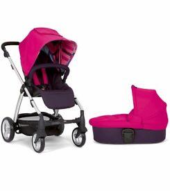 Pink Sola mamas and papas