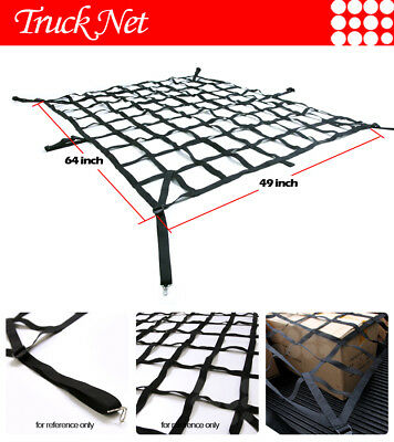 Fit Chevrolet Pickup Truck Heavy-Duty Cargo Net Extended Cab 6.5ft Bed Web