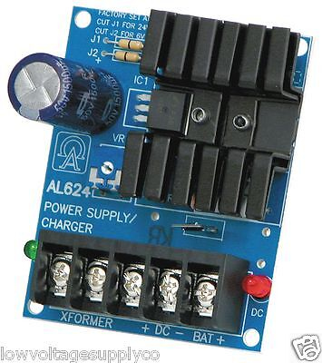 Altronix AL624 Linear Power Supply/Charger - Access, Security, CCTV Altronix Linear Power Supply