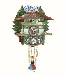 Kuckulino Black Forest Clock Swiss House with quartz movement a.. TU 2024 SQ NEW