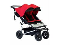Mountain buggy duet in chilli red
