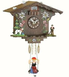 Kuckulino Black Forest Clock Swiss House with quartz movement a.. TU 2022 SQ NEW