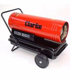 Diesel / Paraffin Space Heater - XR 155 - Halls - Very High output and economical - Bargain RRP £559