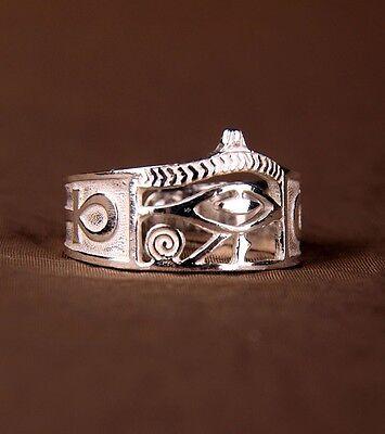Ring Horus-  Horusauge  925er Silber