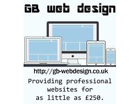 GB web design | Affordable websites at reasonable prices