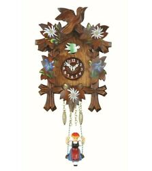 Kuckulino Black Forest Clock with quartz movement and cuckoo ch.. TU 2010 SQ NEW