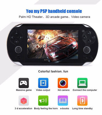 4.3'' 8GB 32Bit 10000 Games Handheld MP5 Video Game Console Portable Player (Mp5 Game Console)
