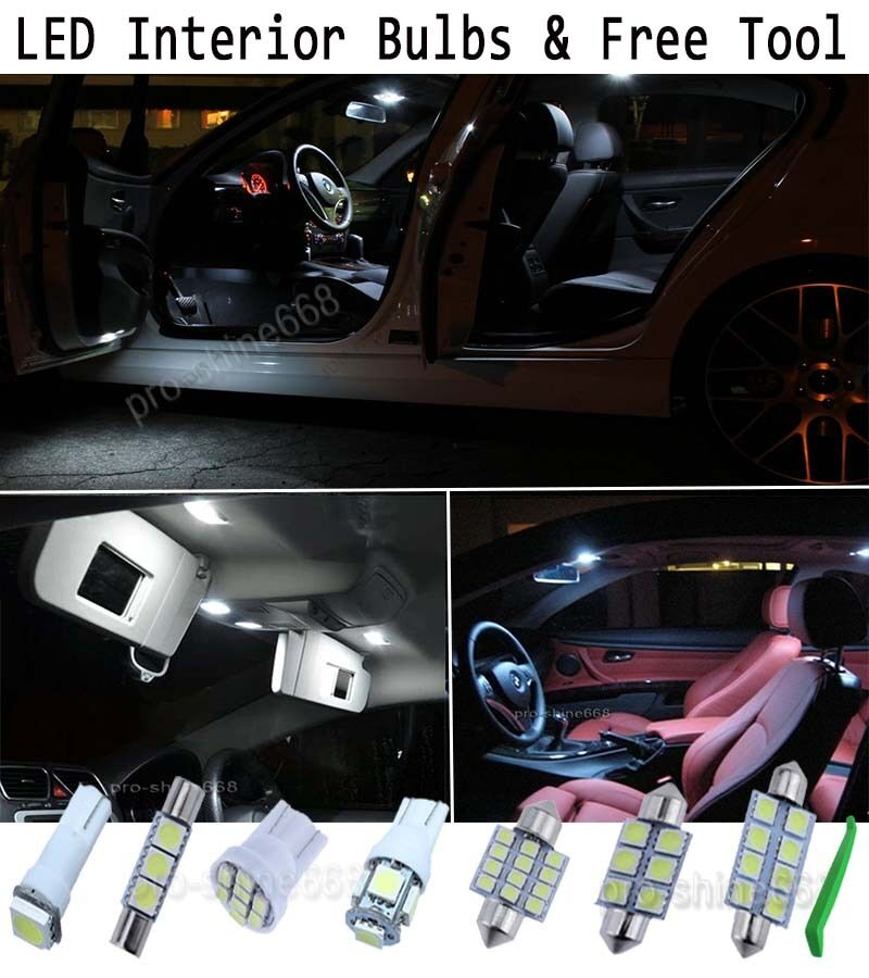 interior car led bulbs light kit package xenon white 6000k for vauxhall corsa picclick uk. Black Bedroom Furniture Sets. Home Design Ideas
