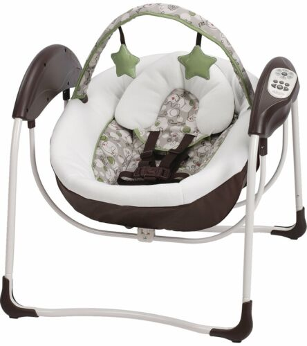 Graco Baby Glider Lite LX Portable Gliding Swing - Zuba - New! Free Shipping