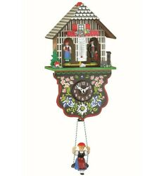 Kuckulino Black Forest Clock weather house with quartz movement.. TU 2025 SQ NEW