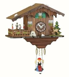 Kuckulino Black Forest Clock Swiss House with quartz movement a.. TU 2019 SQ NEW