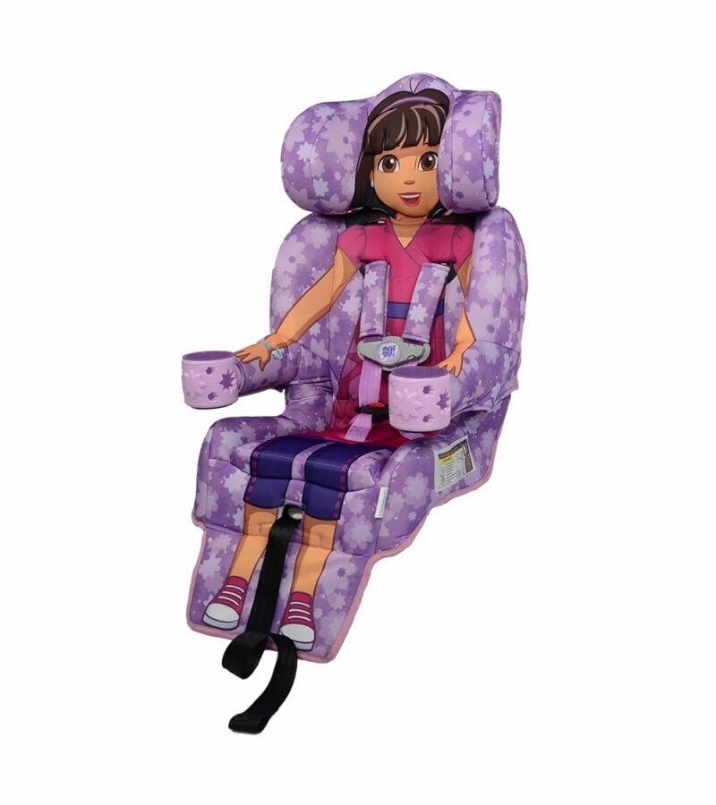 KidsEmbrace 2-in-1 Harness Booster Car Seat, Nickelodeon Dor